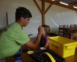 Les animations Matinée maquillage Camping le Pô doré Saumur