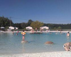 Le lagon camping le Pô Doré Saumur