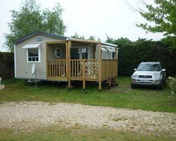 Nos Mobiles Homes Camping le Pô Doré Saumur
